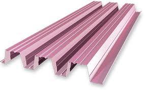 профнастил розовый