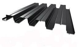 металлпрофиль черный
