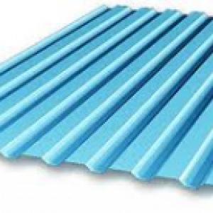 металлпрофиль синий