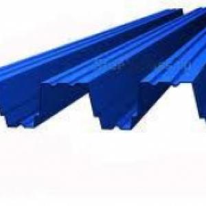 синий металлпрофиль фото